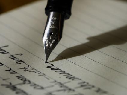 blogging pen